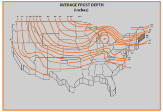 US Frost Line